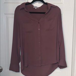 Express portofino shirt in plum